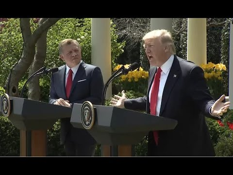 Live Now President Donald Trump Press Conference With King Abdullah Of Jordan 4 5 2017 Supernewsworld