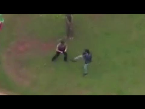 Police Chase In Oklahoma City Ends With Scuffle With Suspect
