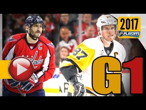 e0353935e9f Pittsburgh Penguins vs Washington Capitals. 2017 NHL Playoffs. Round 2. Game  1. 04.27.2017 (HD)