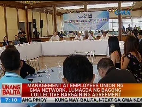 Ub Management At Employees Union Ng Gma Network Lumagda Ng Bagong
