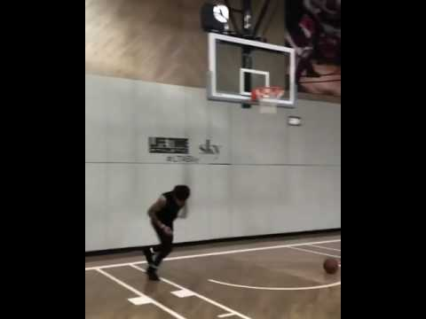 fdb441c120a Kelly Oubre Jr. Working Out in Yeezy Boost 750