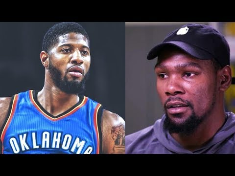 afae29e9d523 Kevin Durant Gives Paul George Advice on Joining the OKC Thunder ...