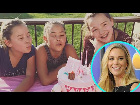 Kate Plus 8 Sextuplets Celebrate 13th Birthday With Epic Camping