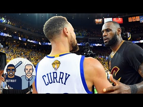 dec7aaf7577 Jalen And Jacoby React To Video Of Steph Curry Mocking LeBron James ...