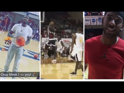 7414b31c930f James Harden   Chris Paul Play Together At Charity Game! ft. Derozan ...