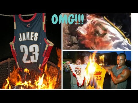 8ea4a0753 Fans BURNING NBA Players Jersey s Compilation!!