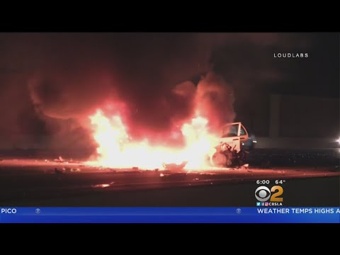 1 Killed In Fiery Crash All Lanes Of Sb 5 Freeway Closed In Sun Valley Supernewsworld Com