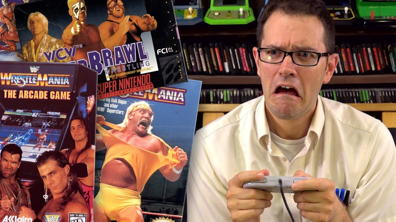The Angry Video Game Nerd V S  WCW and WWF games