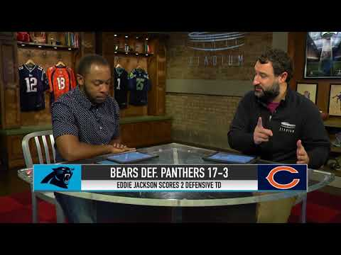 Eddie Jackson Leads Bears Past Panthers  4029bc71f