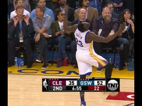 cad67dc6f843 Draymond Green Calls LeBron James On A Flop