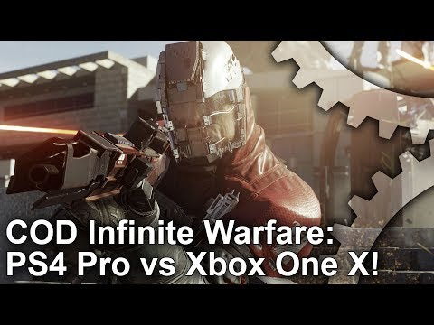 4k Call Of Duty Infinite Warfare Xbox One X Vs Ps4 Pro Graphics