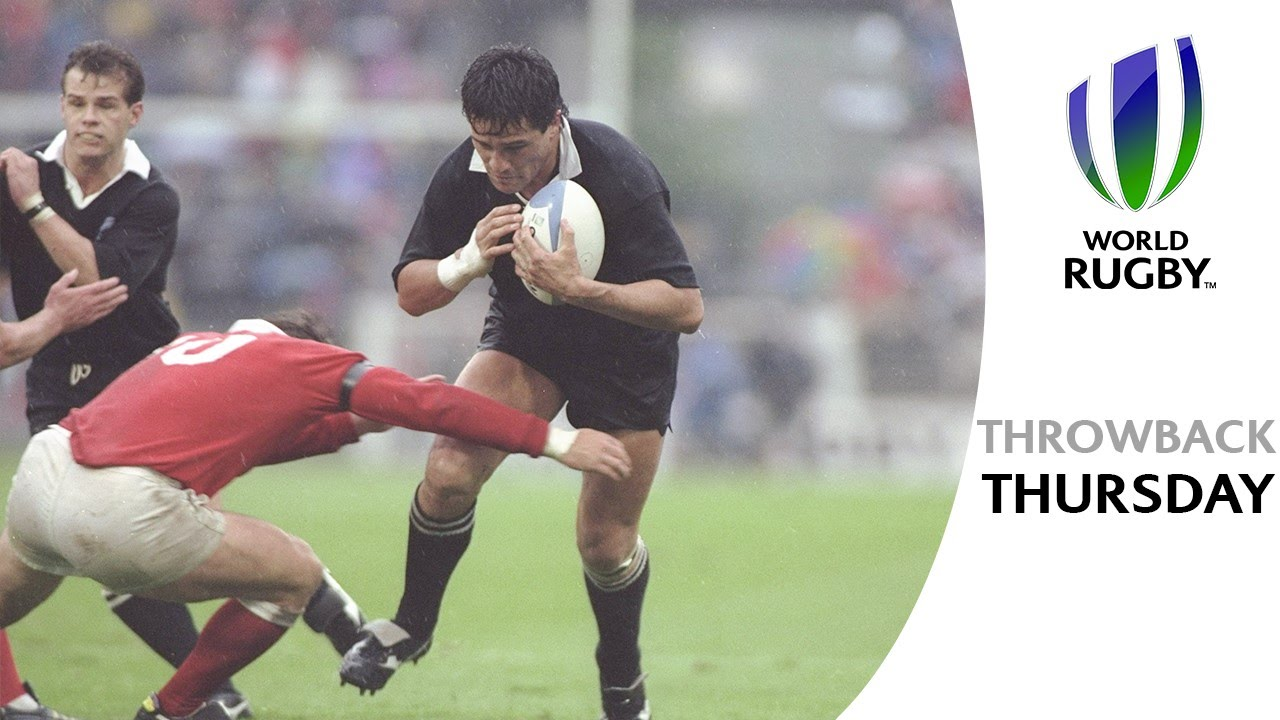 Highlights Of Canadas World Cup Quarter Final Against The All Blacks In 1991