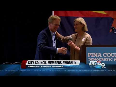 Tucson S Newest City Council Member Returning Members Were Sworn In