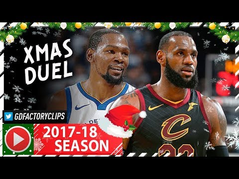 29f8f3836ad7 Kevin Durant vs LeBron James EPIC XMAS Duel Highlights (2017.12.25)  Cavaliers vs Warriors - MUST SEE
