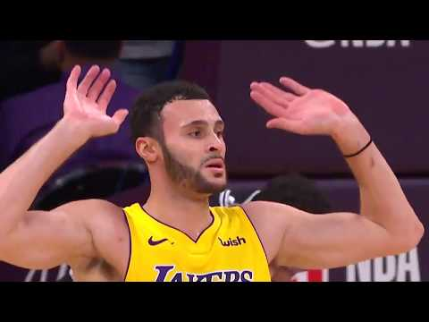 37cac62e27cd Lakers  Larry Nance Jr. Raises the Roof Following Monster Alley-Oop ...