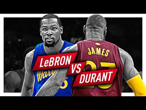 b51296227c9e LeBron James vs Kevin Durant EPIC Duel Highlights from 2016-2017 Season!