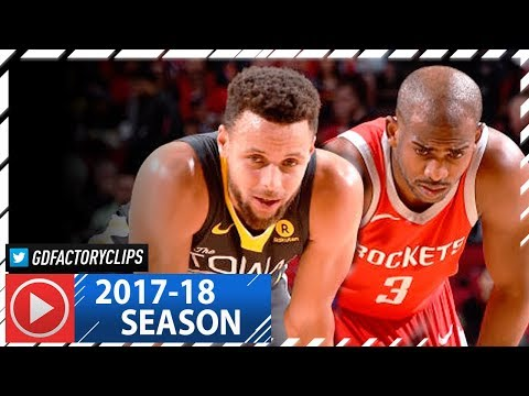 aad22005e0b5 Chris Paul vs Stephen Curry EPIC Duel Highlights (2018.01.20) Rockets vs  Warriors - CP3 with 33 Pts!