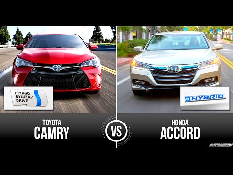Honda Accord Hybrid Vs Toyota Camry Full Review Comparison Test Supernewsworld