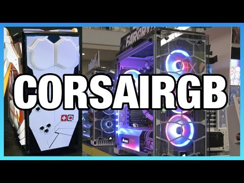 Corsair iCUE Resource Utilization & Overwatch Case Mods
