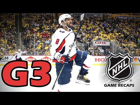 6f1cebf9c62 Washington Capitals vs Pittsburgh Penguins. 2018 NHL Playoffs. Round 2. Game  3. 05.01.2018. (HD)