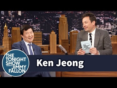what did ken jeong say on jimmy fallon