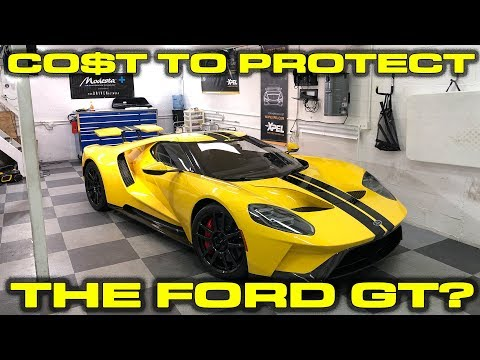Cost To Protect The  Ford Gt Xpel Ultimate Plus And Modesta Coating At Hughs Detailing In Miami Supernewsworld Com