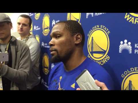 ce53dfcb961 Kevin Durant Responds to Shaq and JaVale McGee Drama 2 24 17 ...