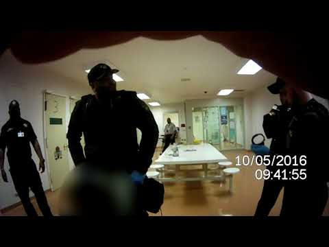 Video shows Cuyahoga County jail guard using excessive force