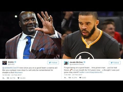 47b20c07086 Erected Stephen A. Smith Defends Shaq Against JaVale McGee