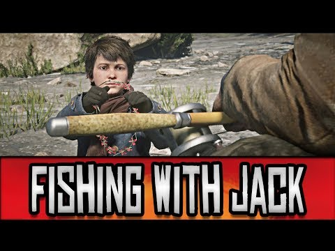 Red Dead Redemption 2 Taking Jack Marston Out Fishing