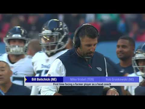 30c6b3d63 Tennessee Titans head coach Mike Vrabel on his relationship with Bill  Belichick after he was traded
