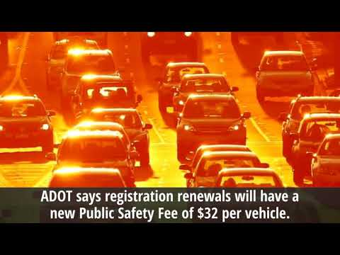 Arizona Car Registration Cost To Increase With Public Safety Fee Supernewsworld