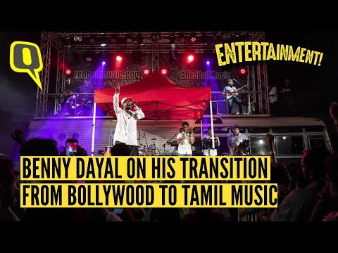 Benny Dayal Talks About Shifting To Tamil Music From Bollywood The