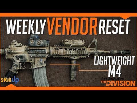 The Division | AMAZING Weekly Vendor Reset Week (11th March