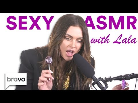 Lala Kent Tries Sexy Asmr For The First Time Bravo Supernewsworld Com