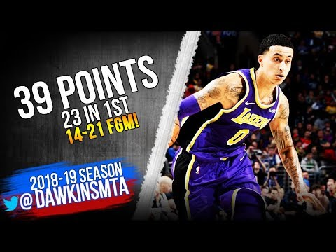 04af80c98 Kyle Kuzma Full Highlights 2019.02.10 Lakers vs 76ers - 39 Pts
