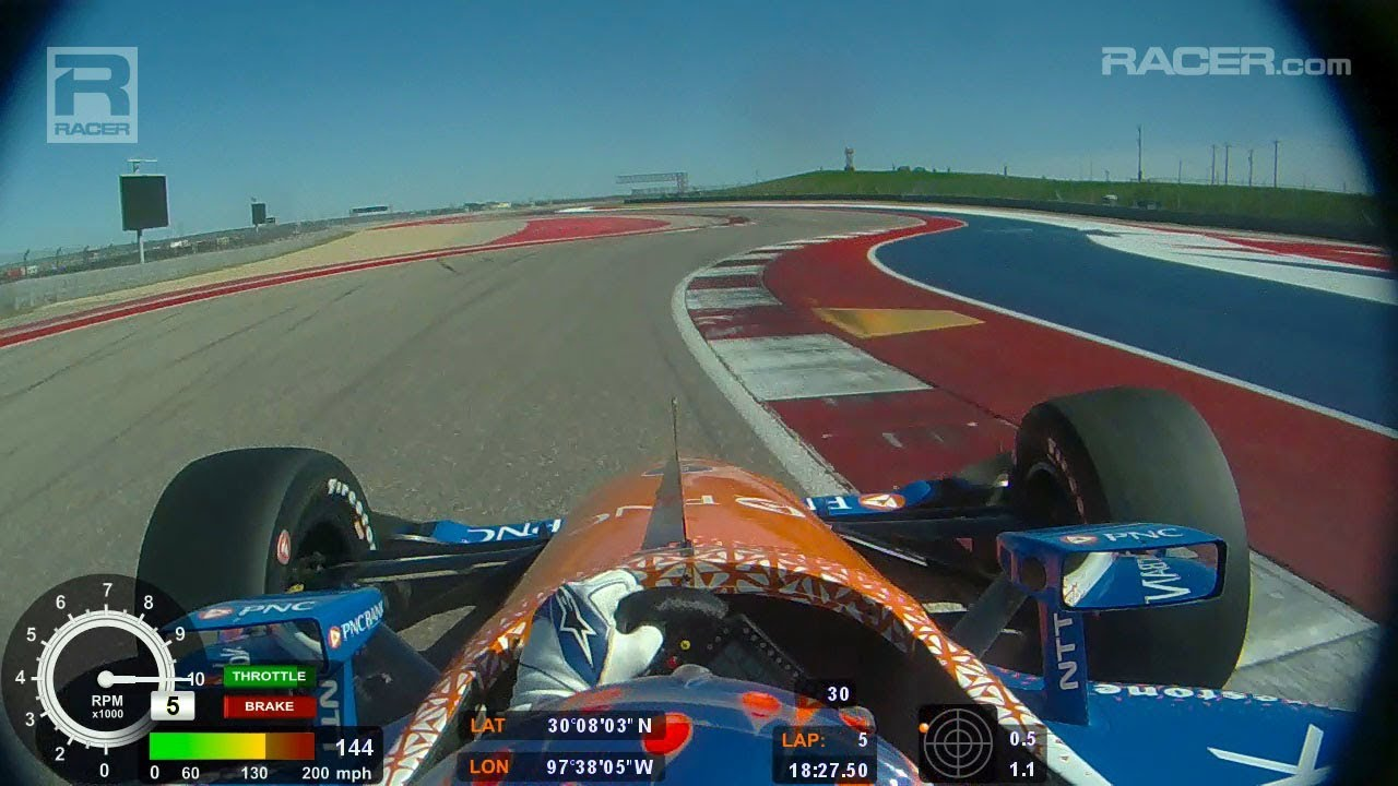 OT] IndyCar onboard from COTA testing earlier today