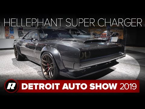 Hellephant 68 Dodge Super Charger Concept Detroit 2019