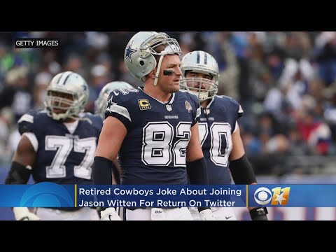 e5efcd911 Retired Cowboys Head To Twitter To Joke About Joining Jason Witten In NFL  Comeback