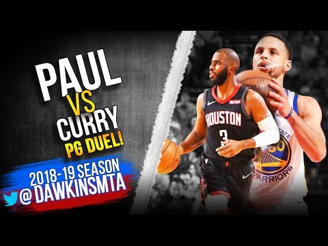 f34f741a321d Stephen Curry vs Chris Paul PG Duel 2019.02.23 - CP With 24