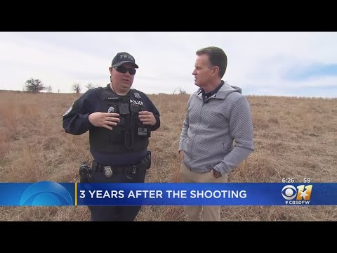 6be221ab98369 Fort Worth Officer Matt Pearce Revisits Spot Where He Was Almost Killed 3  Years Ago