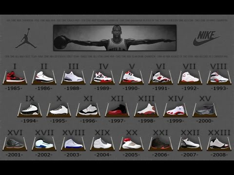 078ea76ce207 INTERESTING FACTS About EVERY Air Jordan Shoe EVER MADE!!! (1985 - 2015)