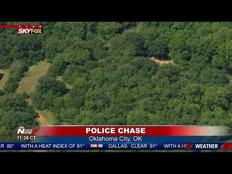 BREAKING: Police Chase in Oklahoma City | SuperNewsWorld com